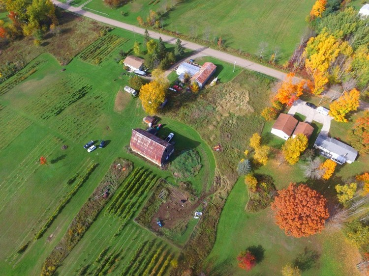 Aerial Shot of Rose Valley Winery